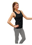 Ladies Polyester/Lycra Razorback Tank Top