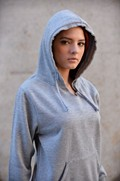 Ladies V-Notch Hoodie